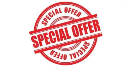 discount special offers logo image