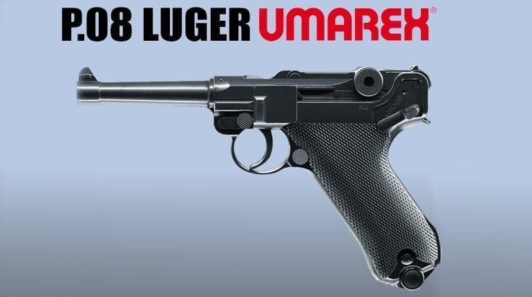 P.08 Luger Air Pistol Umarex Legends