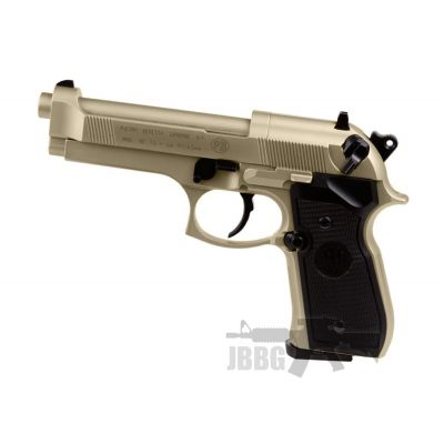 Beretta 92F Nickel 177 Air Pistol