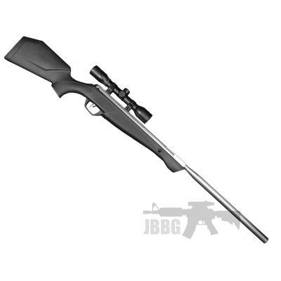 Crosman Silver Fox NP 22 Air Rifle with Scope