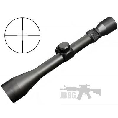 3-9X40 Pro Scope + 11mm Mounts