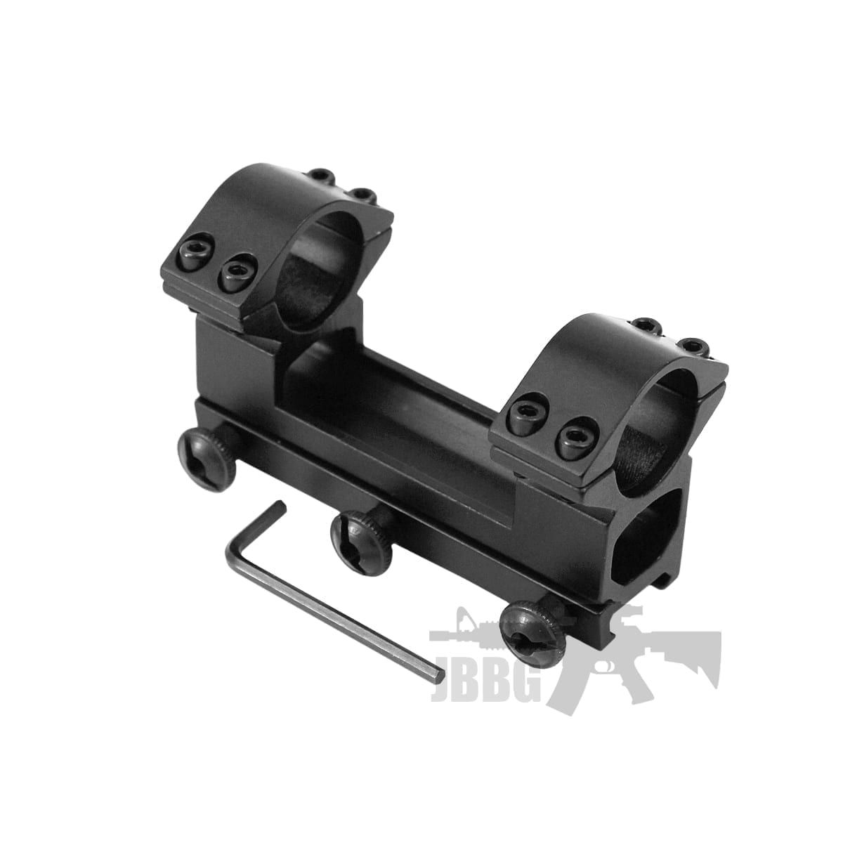 High Profile One Piece 1/'/' 25.4mm Scope Ring 20mm Rail See Through Rifle Mount @