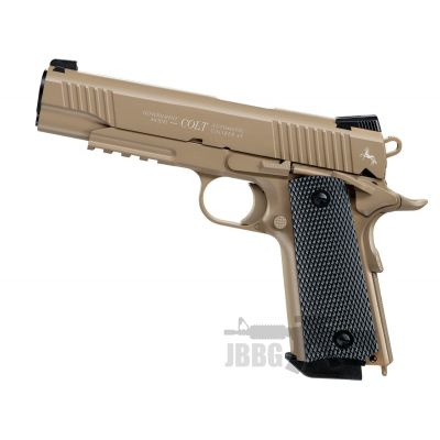 Colt M45 CQBP Desert Steel BB Air Pistol