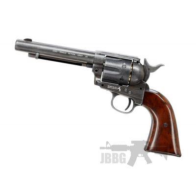 Colt SAA 45 CO2 Antiqued Revolver