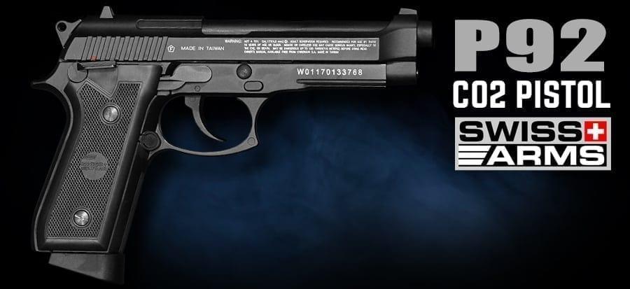 P92 swiss arms air pistol airguns