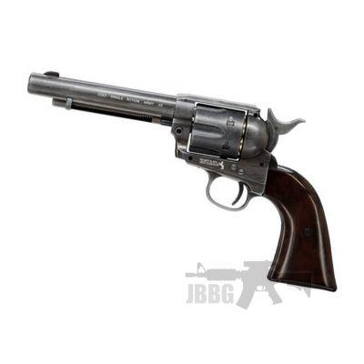 Colt SAA 45 CO2 Antiqued Black Revolver