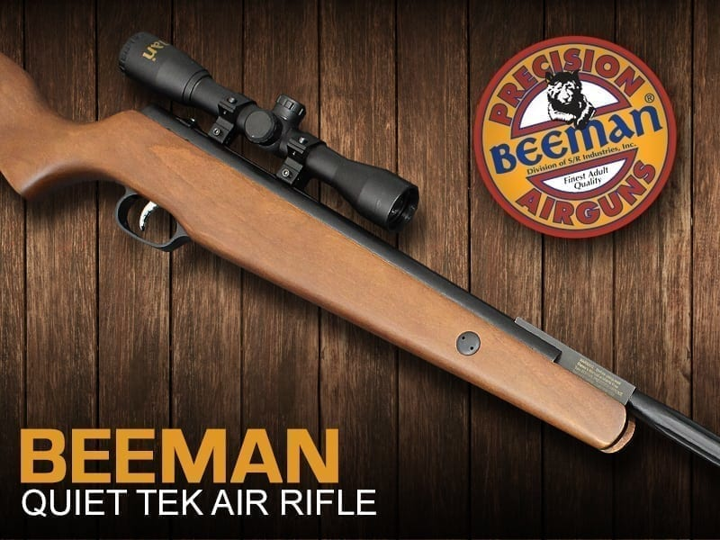 beeman quiet tek air rifle at just air guns