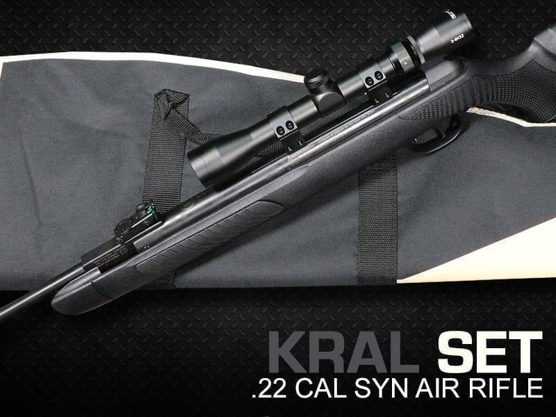 kral air rifle sets at just air guns