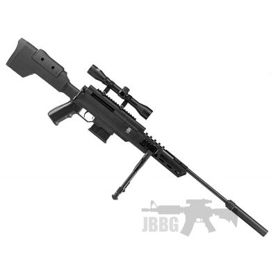 Black Ops Air Rifle 177 with Scope and Bipod