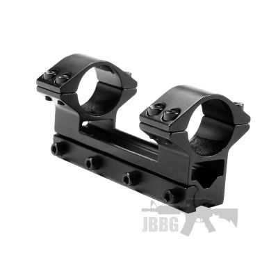 One Piece High Profile 1MM Rail Scope Mount 25MM Scope Ring