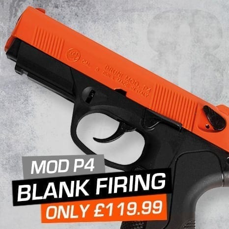 blank firing pistol at just air guns