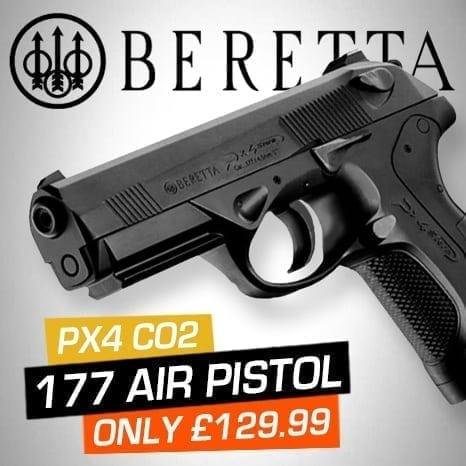 beretta pistol at just air guns