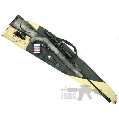 Kral Devil Skull Air Rifle Set 22