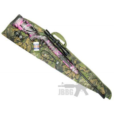 Kral Devil Muddy Girl Air Rifle Set 22