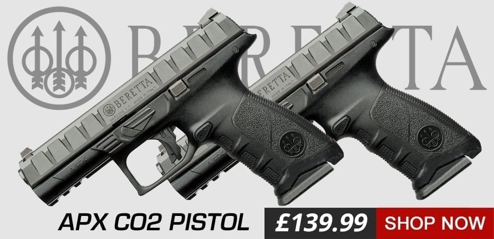 Beretta apx co2 air pistol at just air guns