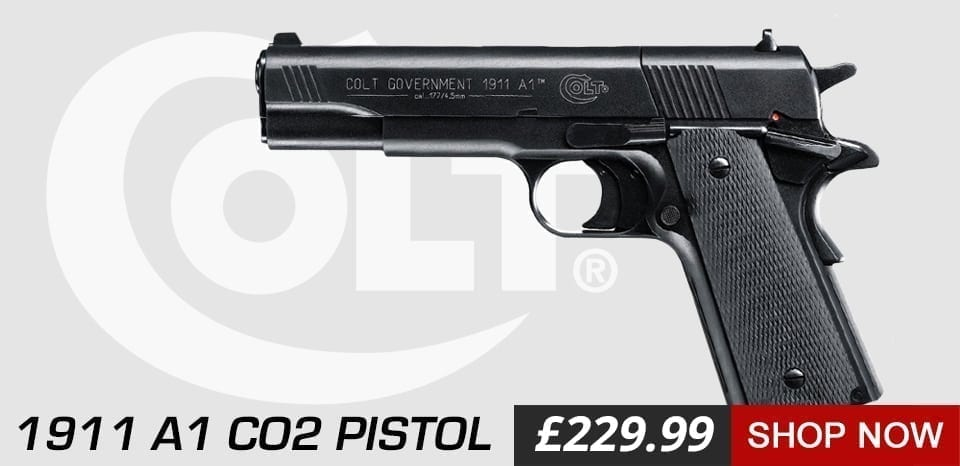 1911 colt air pistol at just air guns