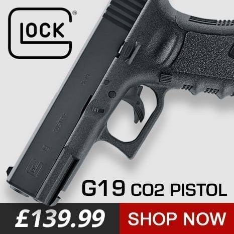 glock air pistol at just air guns