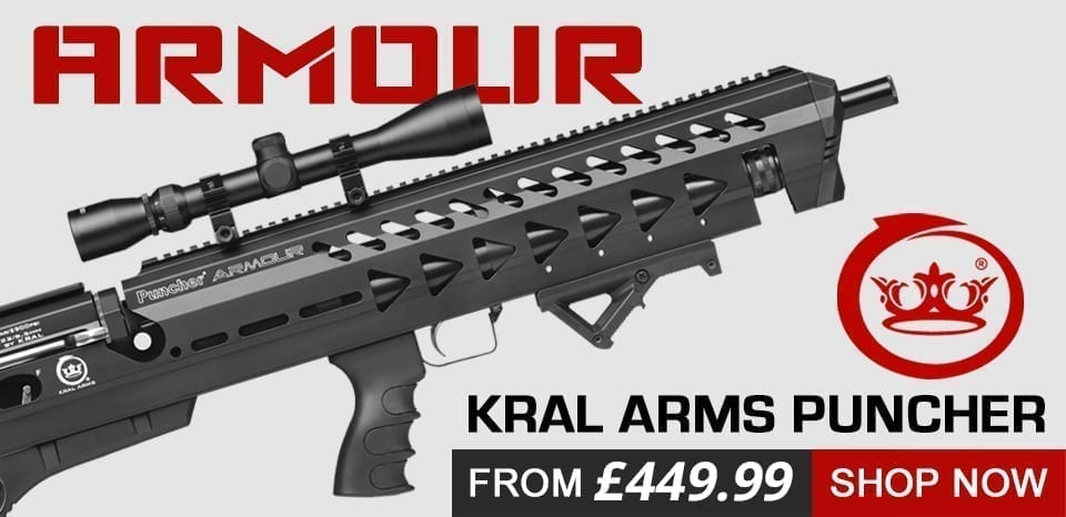 armour air rifle at just air guns