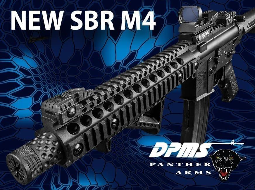 new sbr m4 air rifle