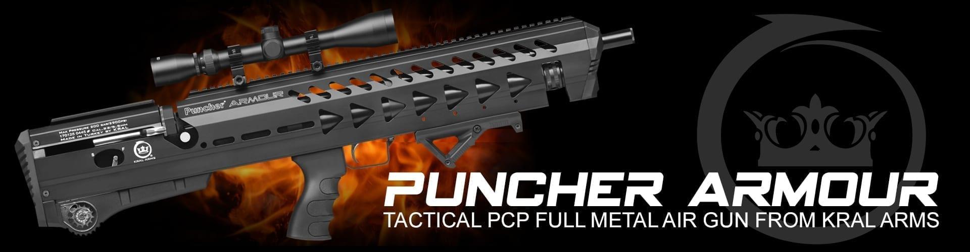 puncher armour PCP full metal air gun