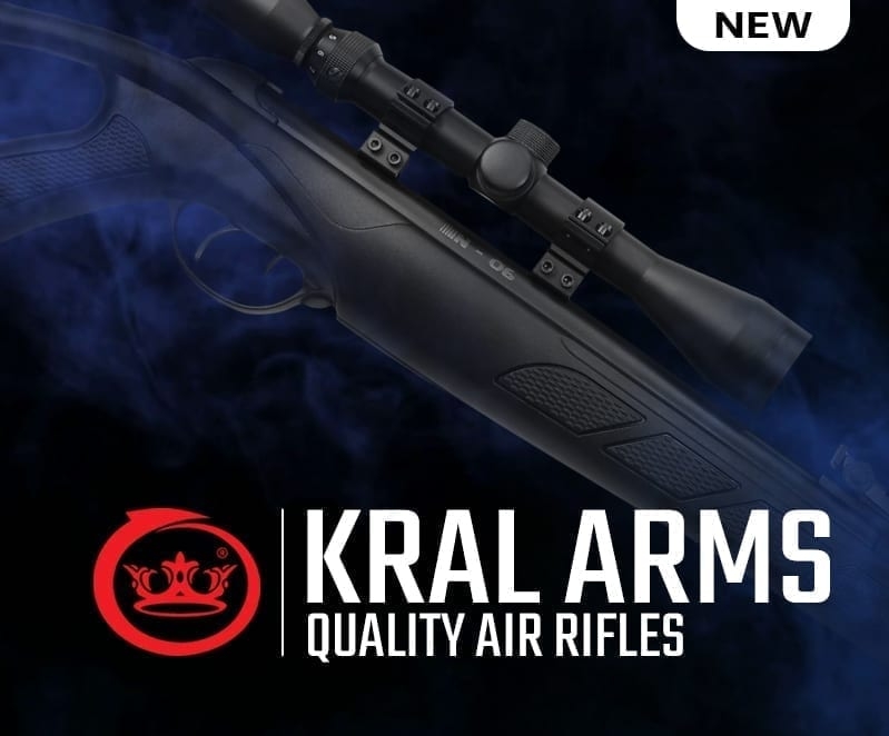 kral arms air rifles at just air guns