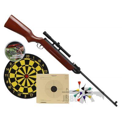 wood air rifle