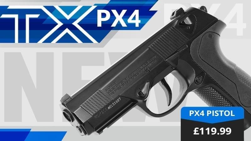 px4 air pistol tx