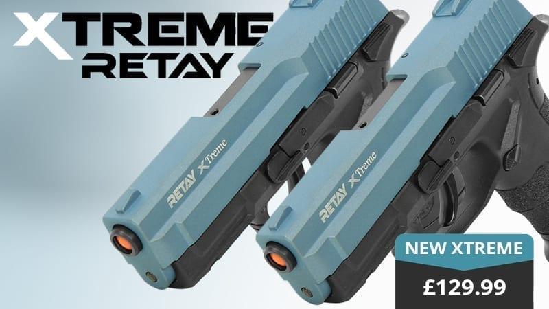 xtreme blank firing pistol