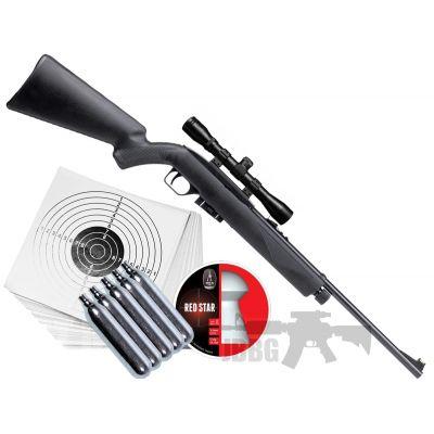crossman 1077 c02 air rifle set
