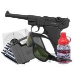 TX P08 Full Metal Co2 4.5 Air Pistol Bundle Set