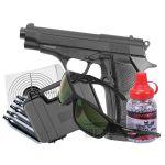 TX M84 Co2 Full Metal 4.5 Air Pistol Bundle Set