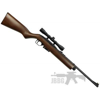 Crosman 1077 Co2 Repeater .177 Air Rifle Wood Stock