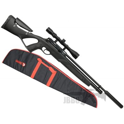 Gamo Coyote Tactical Air Rifle Pack with Silencer, Scope and Bag .177