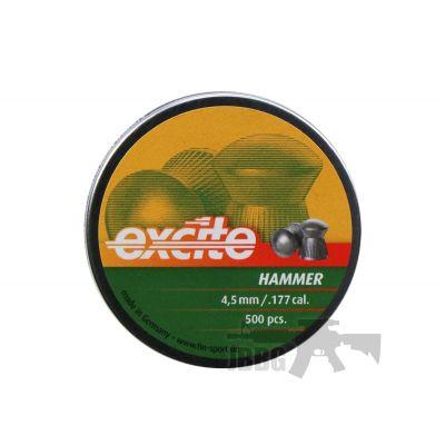 H&N Excite Hammer 4.5mm .177 Cal 500 Pellets