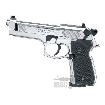 Beretta 92FS CO2 Polished Chrome Air Pistol