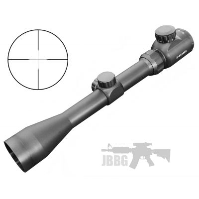 3-9X40 EG Scope with 11mm Mounts for Air Rifles