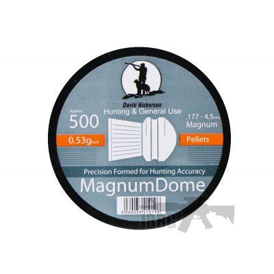 500 Magnum Dome .177 Pellets
