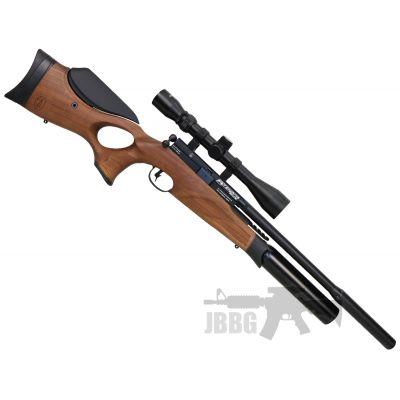 BSA R10 PCP .22 Walnut Stock Air Rifle