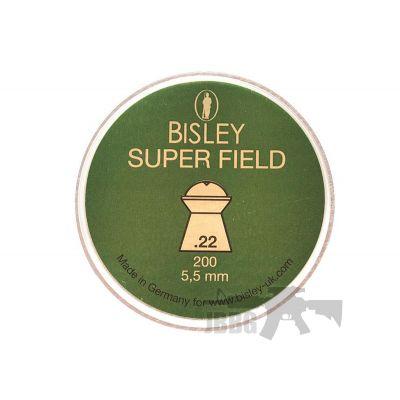 200 Bisley Superfield Pellets 22