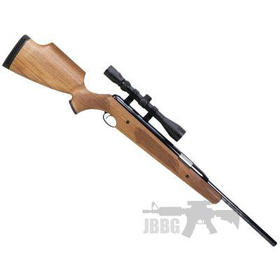 AirArms Pro Sport Single Shot RH Walnut STD Air Rifle .22