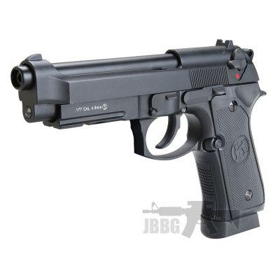 KL M92 Co2 Black Blowback Air Pistol