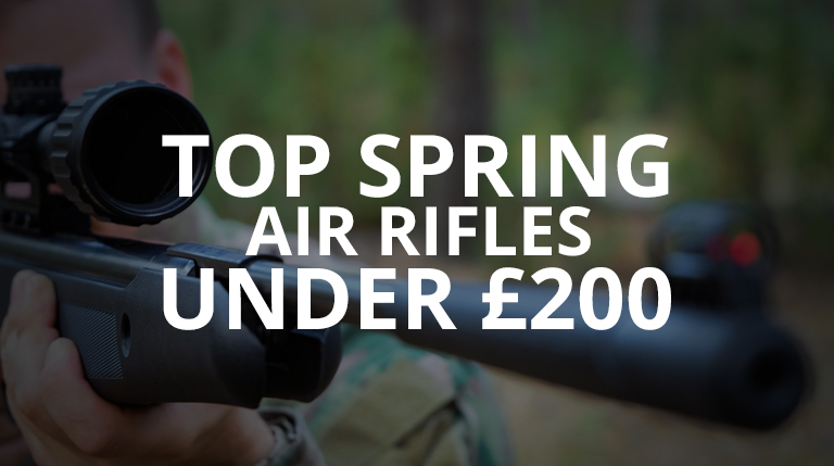 Top Spring Air Rifles under £200