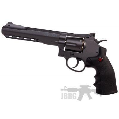 Crosman SR357 CO2 Air Pistol Black Revolver