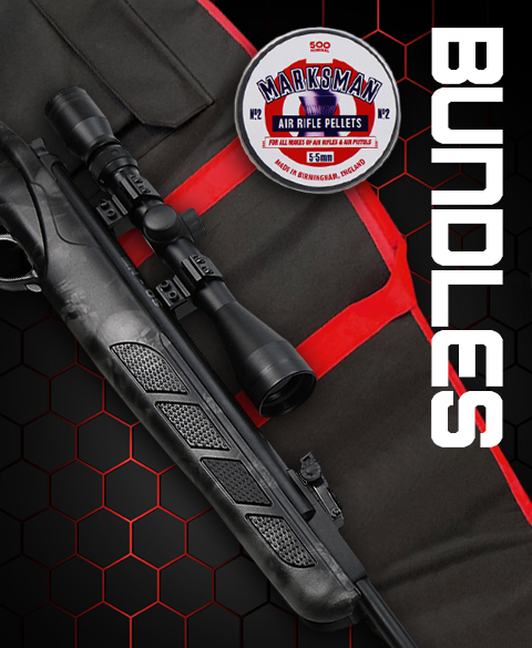 air rifle bundle sets at just air guns uk
