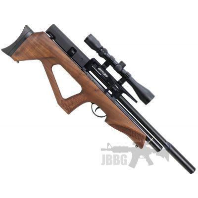 BSA Defiant PCP Walnut Stock .22 Air Rifle
