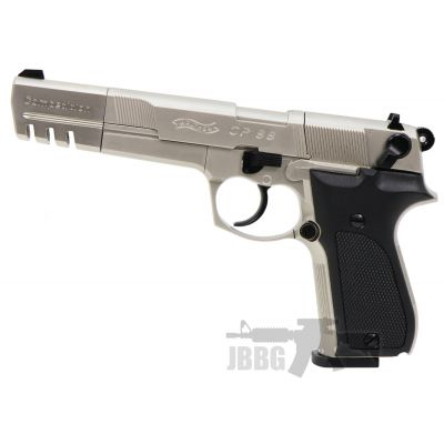 Walther CP88 Competition CO2 Air Pistol Nickel