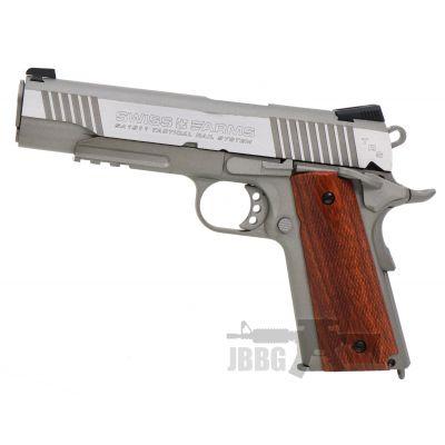 Swiss Arms SA 1911 SA Tactical Rail System Air Pistol