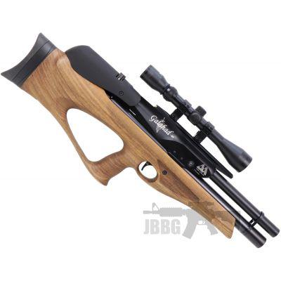 AirArms Galahad Carbine PCP Walnut Stock Air Rifle .177