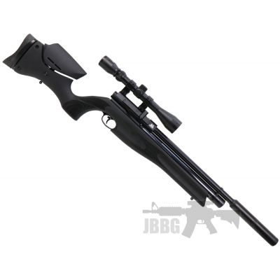 AirArms S510 Carbine Ultimate Sporter Ambi Black Soft Touch PCP Air Rifle .177