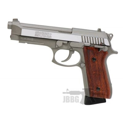 Swiss Arms Beretta SA92 Stainless Steel .177